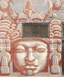 Mural in central San Jose