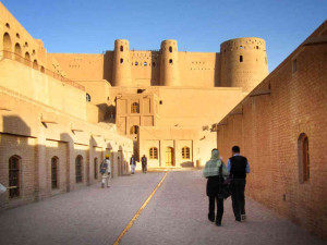 The Herat Citadel build in the early 14th century, occupies the same location as Alexander the Great's fort.