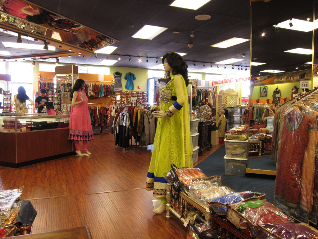 Indian native Varsha Patel designs all of the clothing for Sagar Exclusive, which sells to customers worldwide.