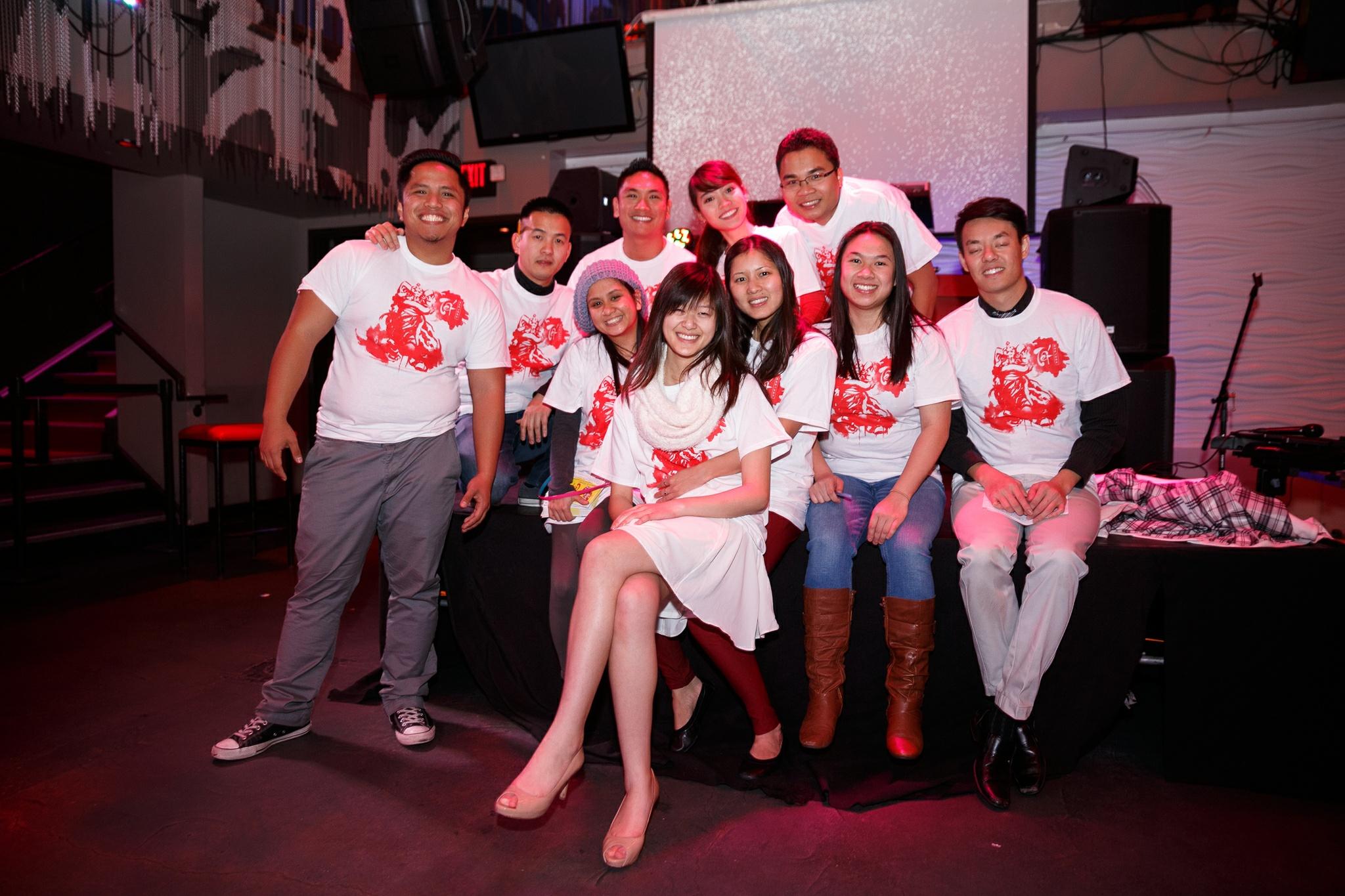 The organizing team for the Vietnamese Tet Festival 2015.