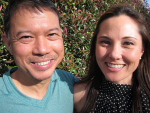 Alicia Forbrich, the 33-year-old daughter of two immigrants, is trying to create an international community though the San Jose Learning Center. William Cristobal and his partner, founders of Yoga Belly Studio, share the vision.