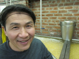Minh Tsai, founder of Hodo Soy Beanery in West Oakland, fled to the United States with his family from Vietnam in 1981. Not quite two decades later, he started his company to bring better tofu to the Bay Area. Now he is expanding nationally. Many of his workers are immigrants too.