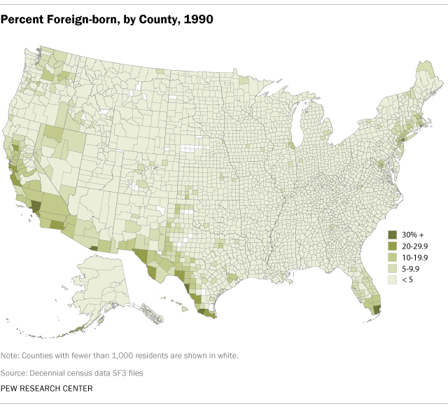 percent-foreign-born-by-county-1990