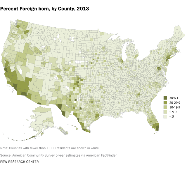 percent-foreign-born-by-county-2013