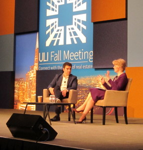 Airbnb Inc. co-founder and Chief Executive Brian Chesky (left) said women are more likely to be hosts and guests on the home-sharing site.