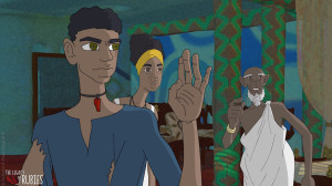 """""""The Legacy of Rubies"""" is a 28-minute animated film about a young boy who is kidnapped and told he is the son of a king and the successor to the throne. (Photo courtesy of Silicon Valley African Film Festival)"""