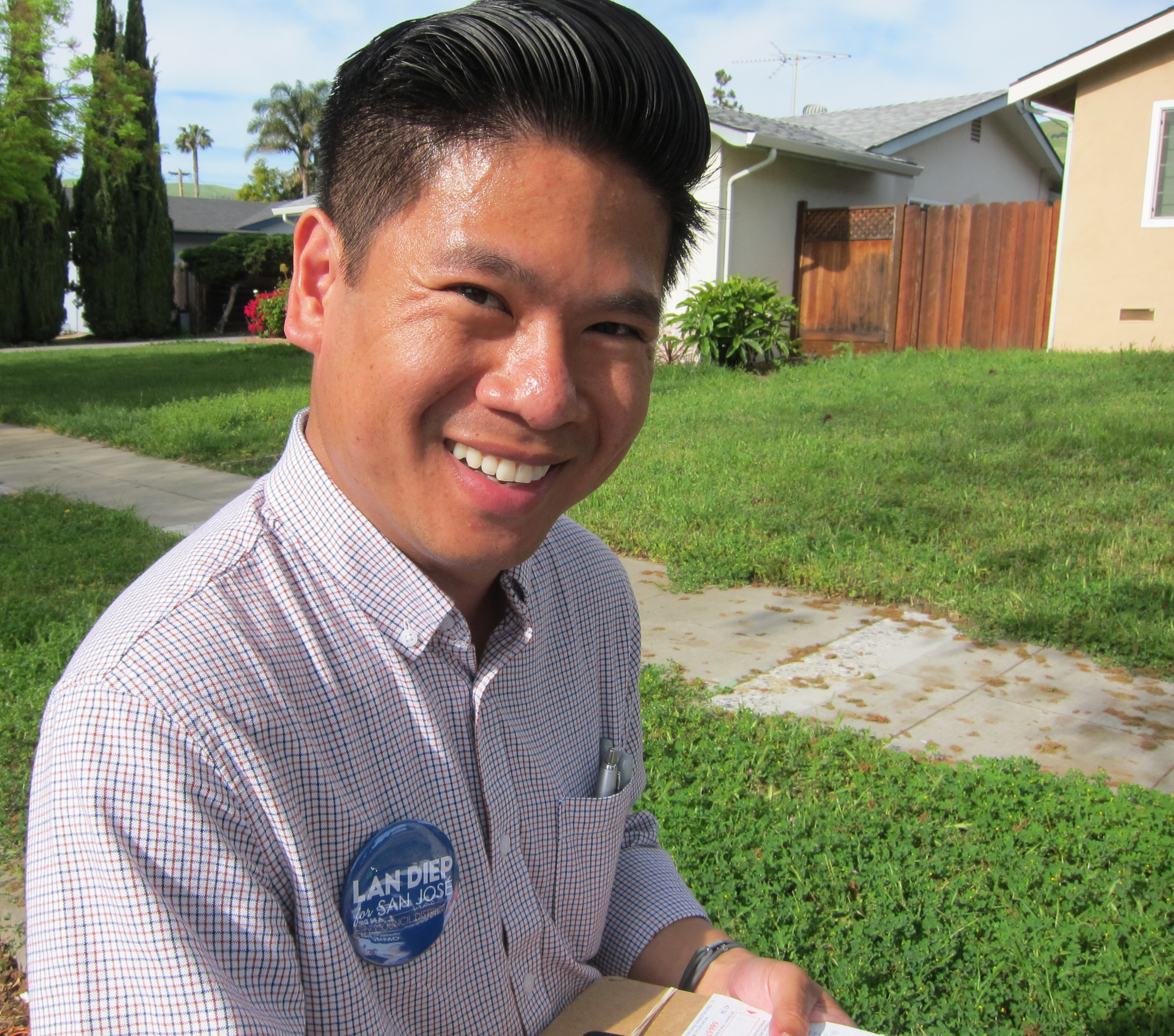 U.S.-Born Son of Refugees Tests San Jose's Appetite for Next-Gen Viet Leaders